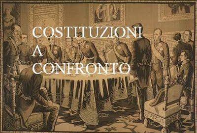 costituzioni a confronto